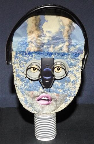 Uluyana, Zu viel nachgedacht, Menschen: Gesichter, Gegenwartskunst, Abstrakter Expressionismus