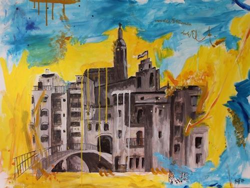 Anett Hoffmann, Next to and after the jewish life- El call/Girona, Architektur, Geschichte, Gegenwartskunst