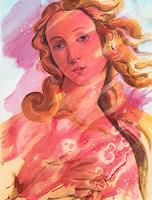J. Nowak, Geburt der Venus n. S. Botticelli