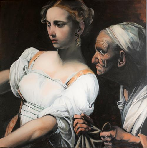 JoAchim Nowak, Im Fokus Judith. Nach Caravaggio, Menschen: Porträt, Realismus