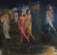 Andreas Lochter, der Tanz ist bald ein Marsch, fast ein Gleichschritt
