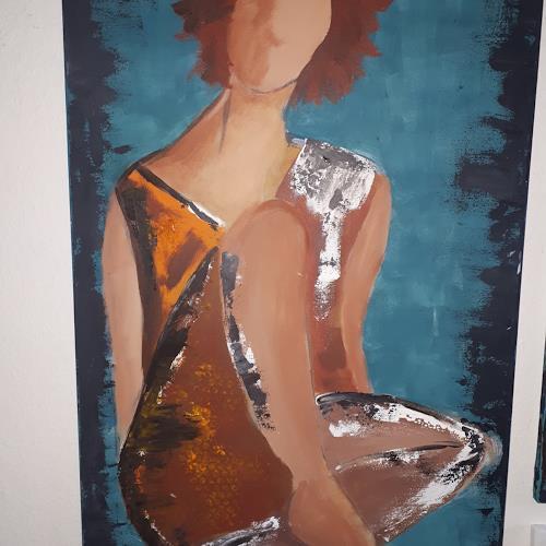 gabieknospeart, Sommeranfang, Menschen: Frau, Abstrakte Kunst, Expressionismus