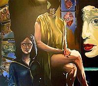ALIM-Menschen-Frau-Menschen-Paare-Moderne-Symbolismus