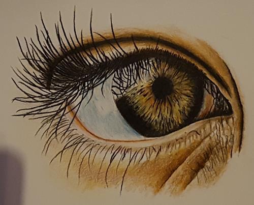 TanLep, Das Auge, Menschen, Abstrakte Kunst, Abstrakter Expressionismus