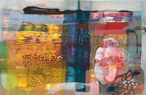Engelbert Engel, Einzeller, Abstraktes, Abstrakte Kunst, Expressionismus