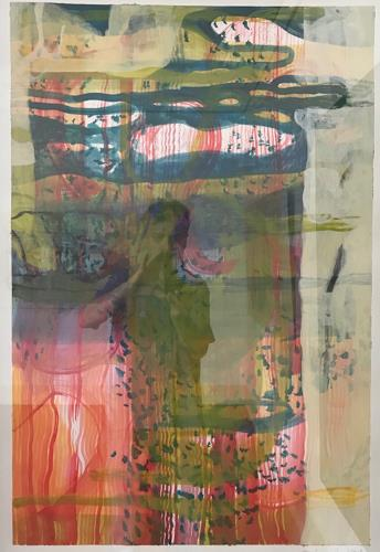 Engelbert Engel, O/T, Abstraktes, Abstrakte Kunst, Abstrakter Expressionismus