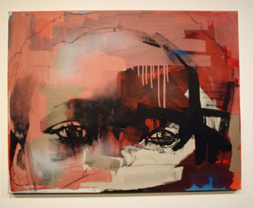 Francisco Núñez, Sin título, Menschen, Abstraktes, Gegenwartskunst