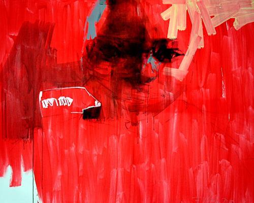 Francisco Núñez, Haitis'serie, Menschen: Porträt, Abstraktes, Gegenwartskunst, Abstrakter Expressionismus