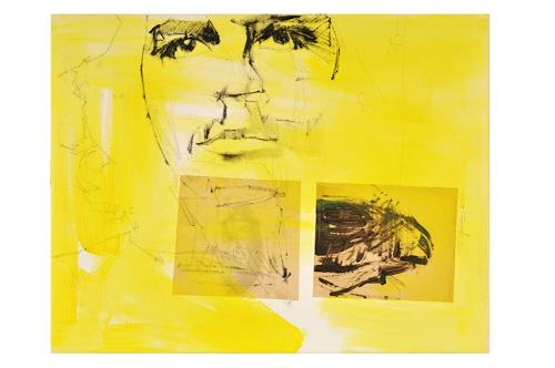 Francisco Núñez, Sin título, Menschen: Porträt, Abstraktes, Gegenwartskunst