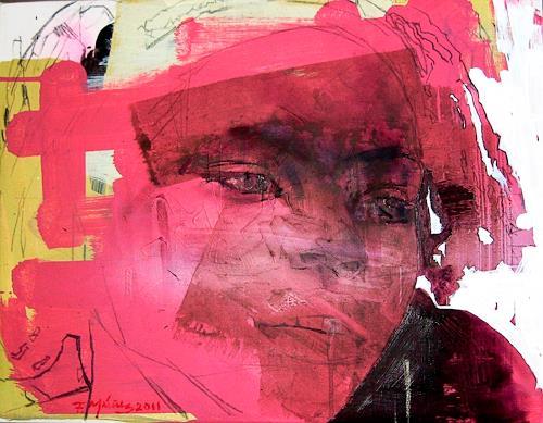 Francisco Núñez, Sobrina de Berta, Abstraktes, Abstraktes, Gegenwartskunst, Expressionismus