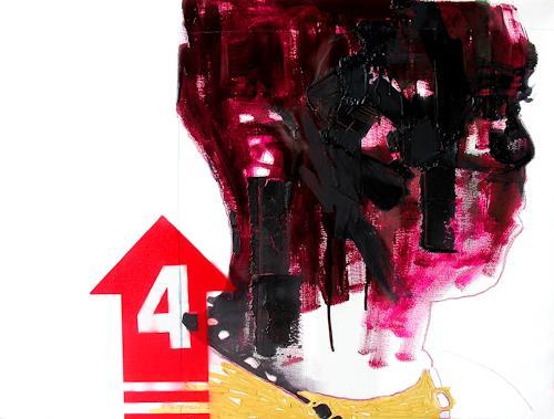 Francisco Núñez, Sin título, Abstraktes, Menschen, Gegenwartskunst