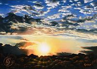 Sabine-Geddert-Diverse-Landschaften-Fantasie-Moderne-Avantgarde-Surrealismus