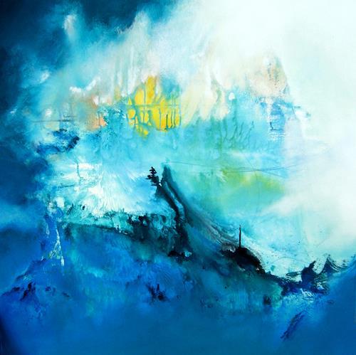 Willi Mayerhofer, Willi Mayerhofer, Abstraktes, Abstrakte Kunst, Expressionismus