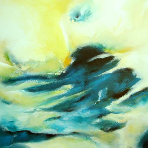 Willi Mayerhofer, Willi Mayerhofer, Natur: Wasser, Abstrakte Kunst
