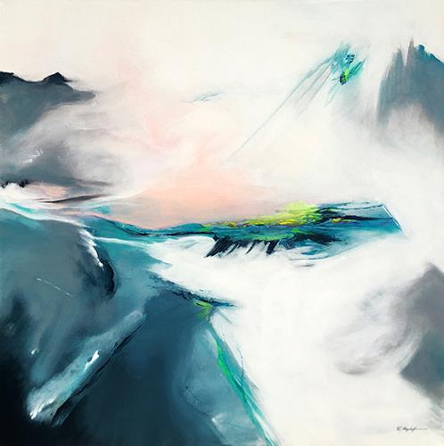 Willi Mayerhofer, Willi Mayerhofer -Licht der Gletscher-, Landschaft: Berge, Natur: Gestein, Informel