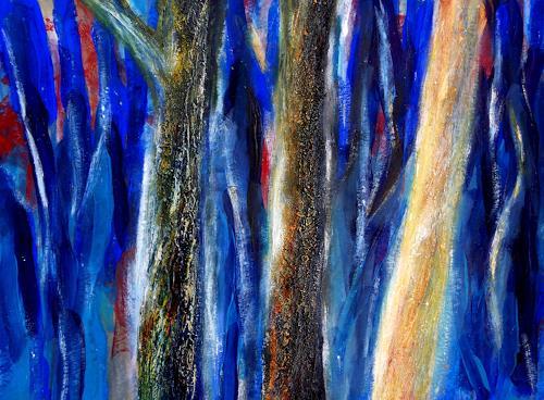 Claudia Irene Carmen Simon, Zauberbäume, Natur: Wald, Pflanzen: Bäume, Moderne
