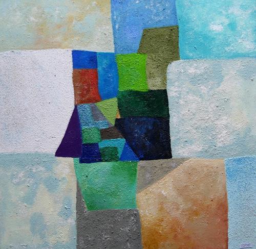 Claudia Irene Carmen Simon, o.T., Abstraktes, Fantasie, Colour Field Painting