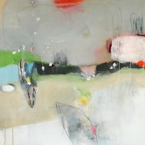 Susann Kasten-Jerke, In the FLOW with...I, Abstraktes, Fantasie, Aktionskunst