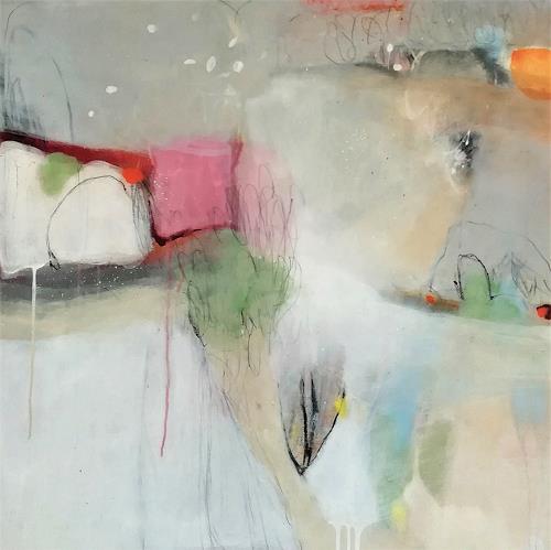 Susann Kasten-Jerke, In the FLOW with...II, Abstraktes, Fantasie, Abstrakte Kunst