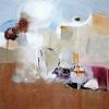 Susann Kasten-Jerke, Ein Moment Entschlosssenheit, Abstraktes, Fantasie, Abstrakte Kunst