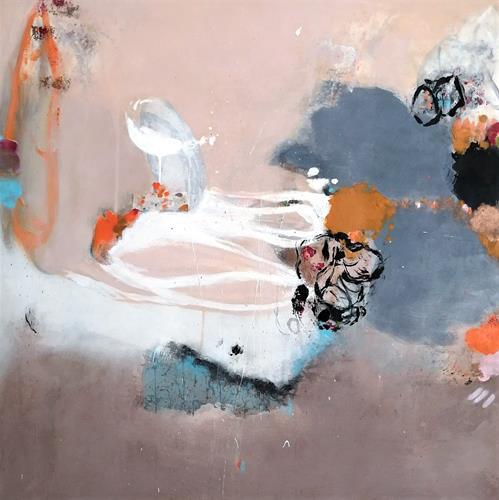 Susann Kasten-Jerke, a frizzy feeling, Abstraktes, Fantasie, Abstrakter Expressionismus, Expressionismus