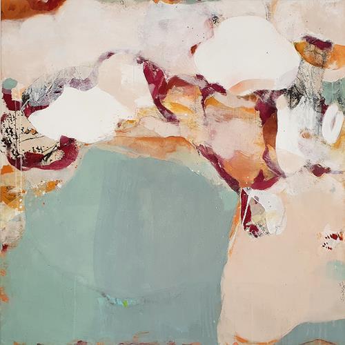 Susann Kasten-Jerke, Stairway to infinity..., Abstraktes, Fantasie, Abstrakte Kunst, Expressionismus