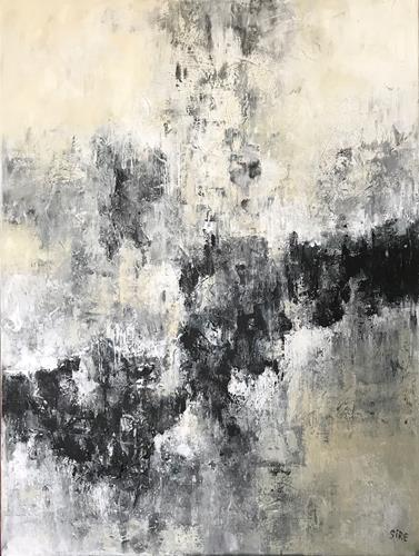 Rita Simon-Reinecke, Wege, Abstraktes, Abstrakter Expressionismus
