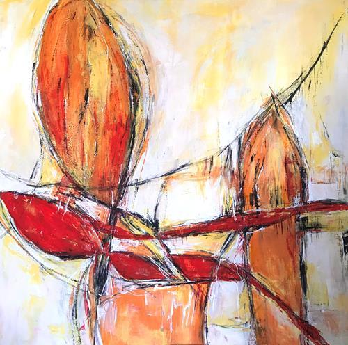 Rita Simon-Reinecke, Durchstarten, Abstraktes, Abstrakte Kunst