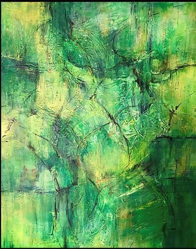 Rita Simon-Reinecke, Zuversicht, Abstraktes, Abstrakte Kunst