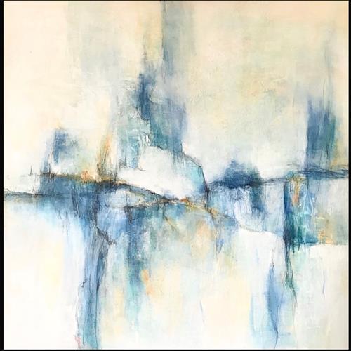 Rita Simon-Reinecke, Gleichgewicht, Abstraktes, Abstrakte Kunst