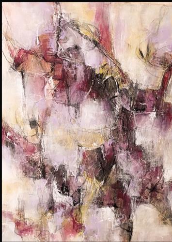 Rita Simon-Reinecke, Verständigung, Abstraktes, Abstrakter Expressionismus