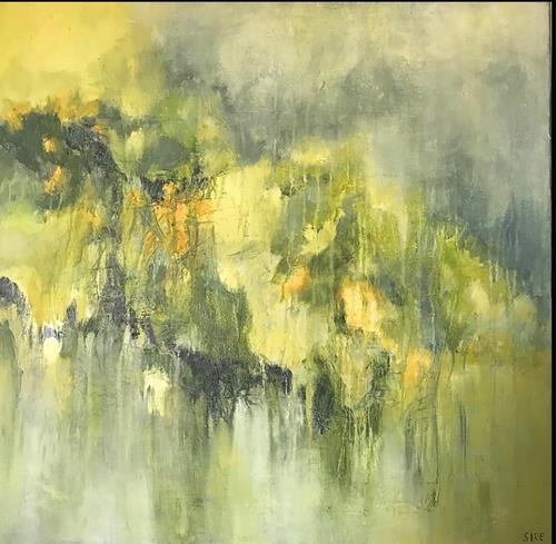 Rita Simon-Reinecke, Entspannung, Abstraktes, Abstrakter Expressionismus