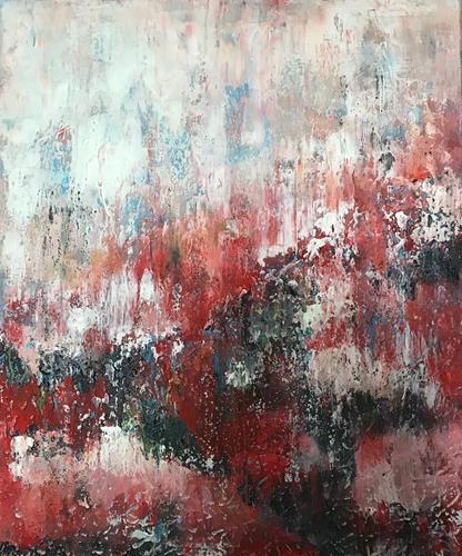 Rita Simon-Reinecke, Steigerung, Abstraktes, Abstrakter Expressionismus