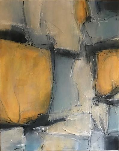 Rita Simon-Reinecke, Augenblicklichkeit 1, Abstraktes, Abstrakte Kunst