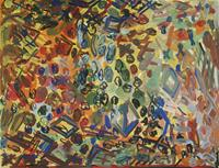 Yuriy-Samsonov-Abstraktes-Fantasie-Moderne-Expressionismus-Abstrakter-Expressionismus