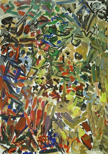 Yuriy Samsonov, Feelings., Abstraktes, Bewegung, Abstrakter Expressionismus
