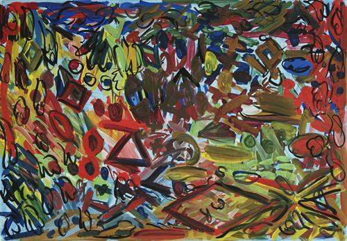 Yuriy Samsonov, Good., Abstraktes, Landschaft, Abstrakter Expressionismus