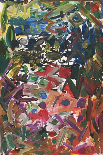 Yuriy Samsonov, Only time., Abstraktes, Landschaft, Abstrakter Expressionismus