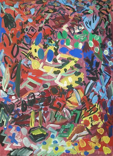 Yuriy Samsonov, Love for everyone., Abstraktes, Landschaft, Abstrakter Expressionismus