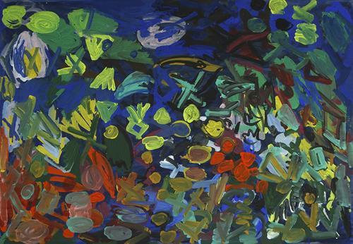 Yuriy Samsonov, Wild., Abstraktes, Landschaft, Abstrakter Expressionismus