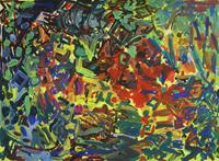 Yuriy-Samsonov-Abstraktes-Landschaft-Moderne-Expressionismus-Abstrakter-Expressionismus