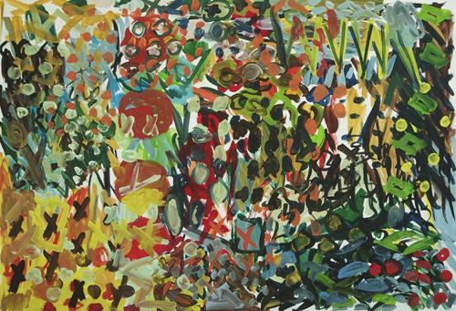 Yuriy Samsonov, Moral. Unvollendete Malerei., Abstraktes, Landschaft, Expressionismus, Abstrakter Expressionismus