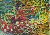Yuriy Samsonov, Schafstein., Abstraktes, Landschaft, Abstrakter Expressionismus