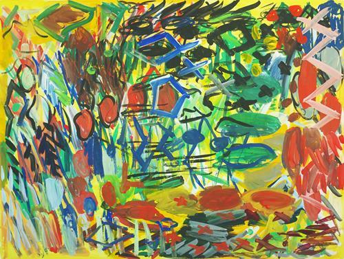 Yuriy Samsonov, Filament., Abstraktes, Landschaft, Abstrakter Expressionismus