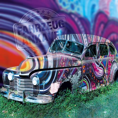 Leo Will, Graffiti Schrott, Industrie, Gegenwartskunst