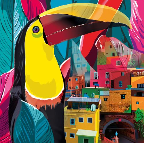 Leo Will, Tukan (Stadt), Landschaft: Tropisch, Gegenwartskunst, Abstrakter Expressionismus