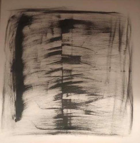 A Lee Brown, Rückgrat, Abstraktes, Abstrakte Kunst