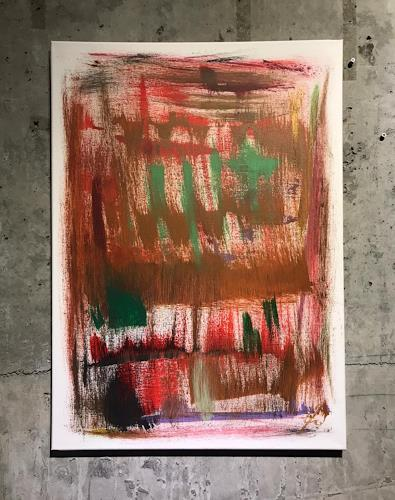 A Lee Brown, Mouth - zweiter Akt, Abstraktes, Abstrakte Kunst