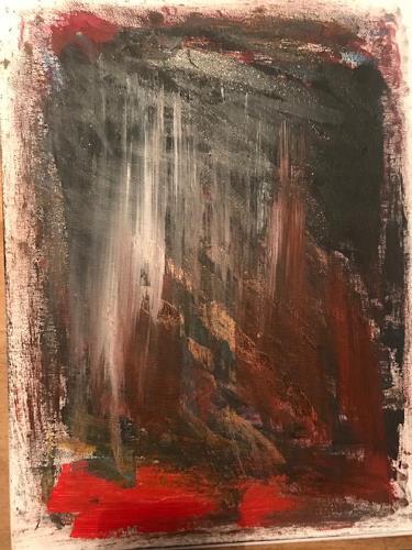 A Lee Brown, Erde, Abstraktes, Abstrakte Kunst