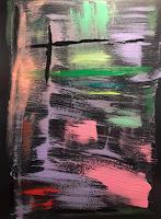 A-Lee-Brown-Abstraktes-Moderne-Abstrakte-Kunst